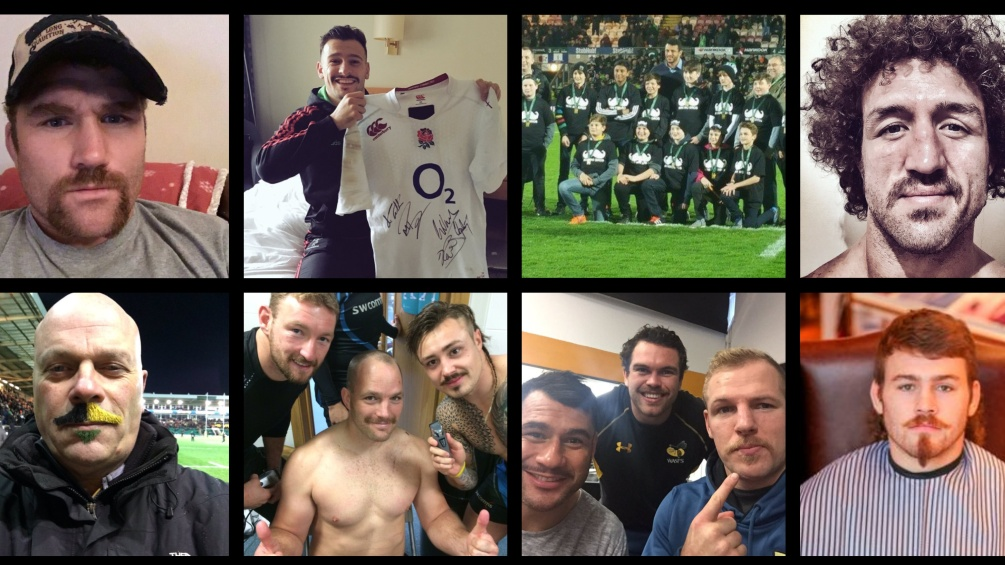 Premiership Rugby clubs and fans unite to raise over £41,000 for Movember