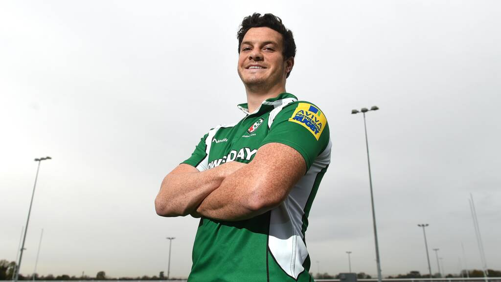 Ciaran Hearn to make Premiership Debut against Harlequins