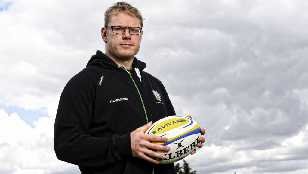London Irish's Tom Court wants you to be an Aviva First Timer