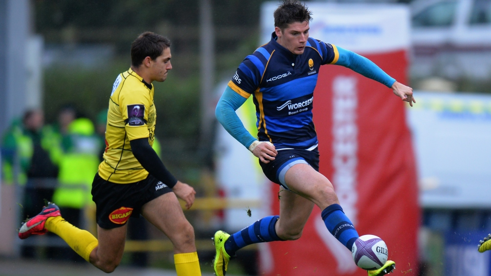 Worcester Warriors team to take on Zebre