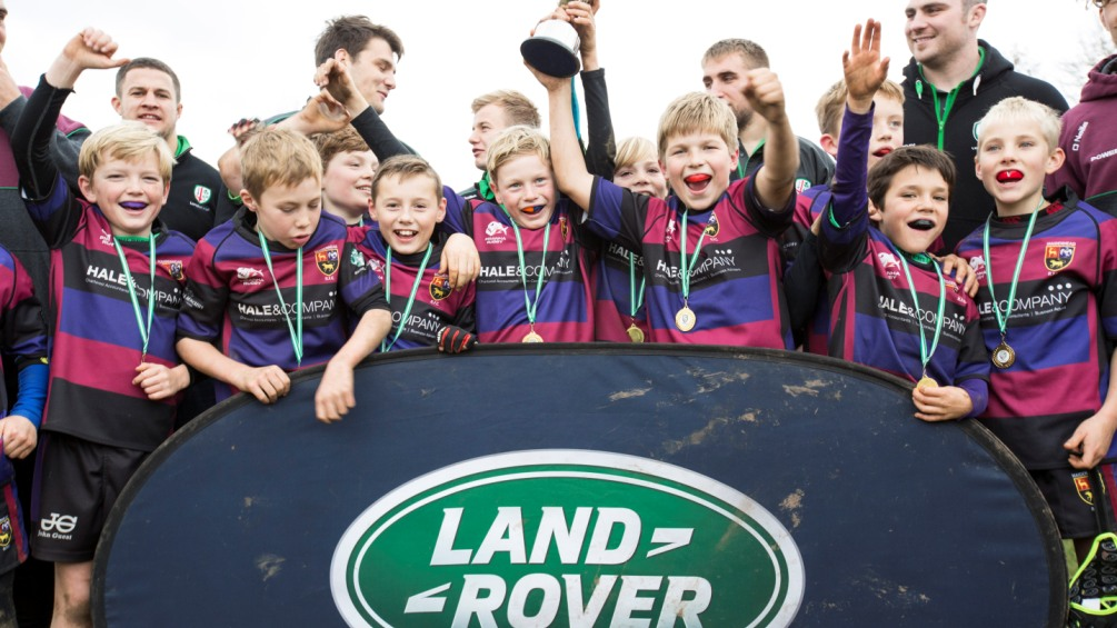 London Irish get in on the Land Rover Premiership Rugby Cup action