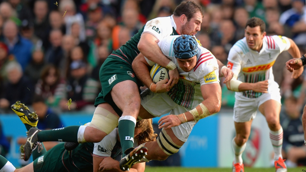 Balmain says there is more to come from Leicester Tigers