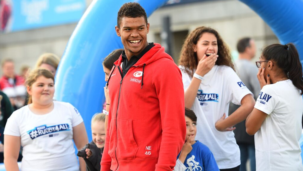 Saracens' Nathan Earle praises Rugby4All