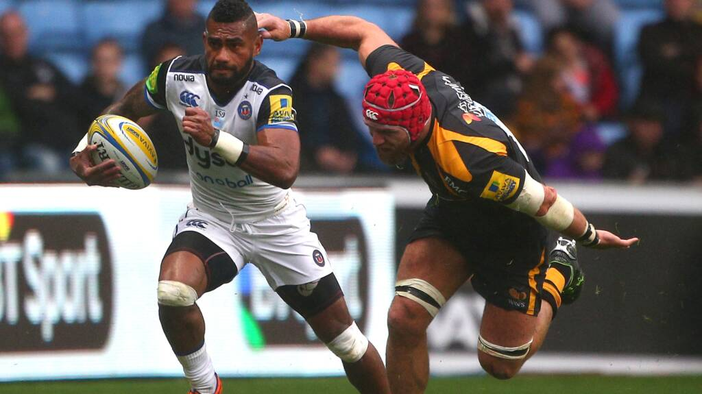Bath Rugby change six for visit of Harlequins