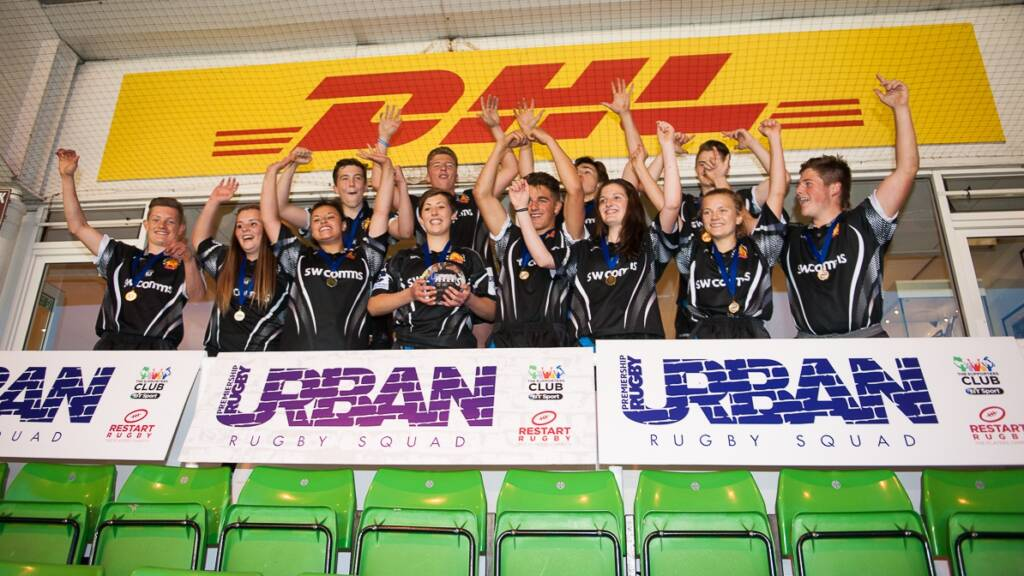 Exeter Chiefs crowned Urban Rugby Squad winners