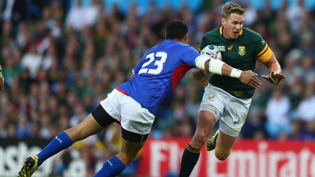 Leicester Tigers confirm signing of Jean De Villiers