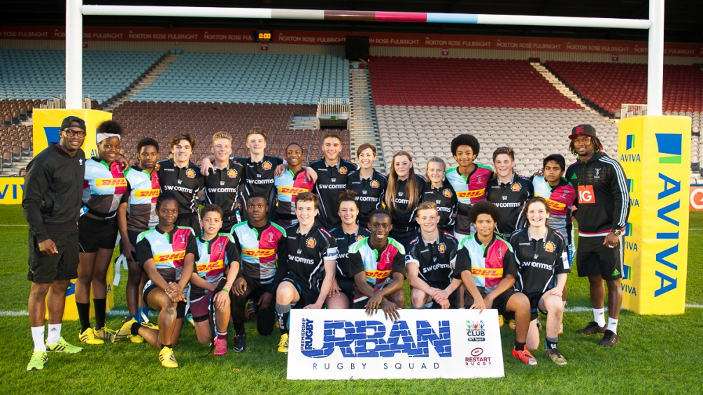 Urban Rugby Squad lights up the Stoop