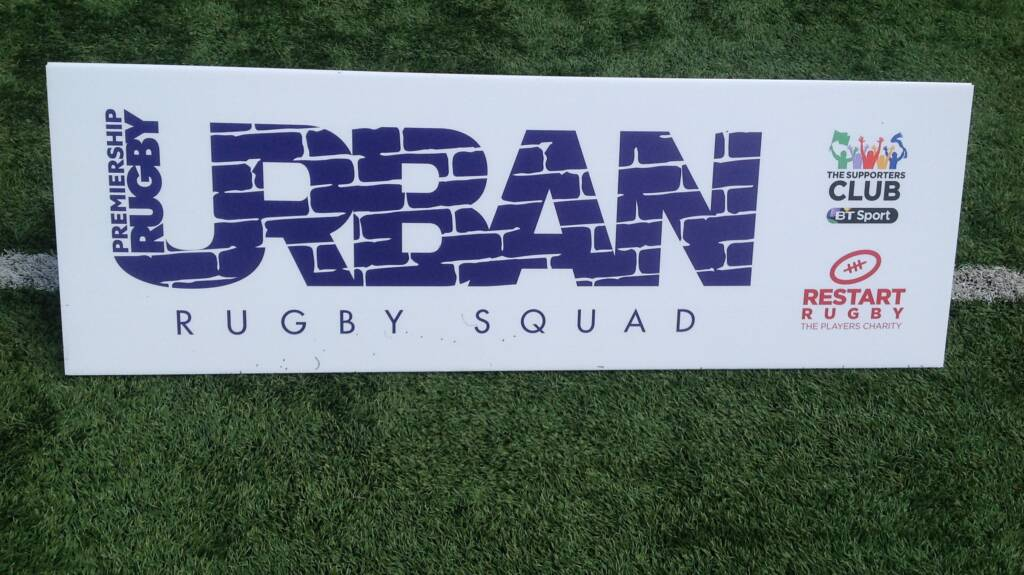 Urban Rugby Squad's making a difference at Wasps