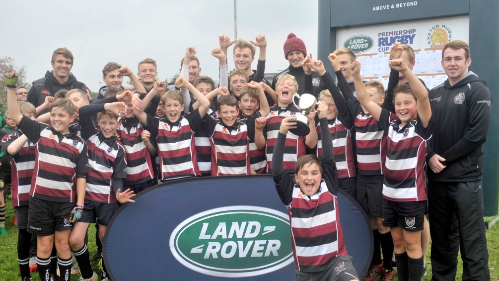 Land Rover Premiership Rugby Cup U12's competition - Exeter