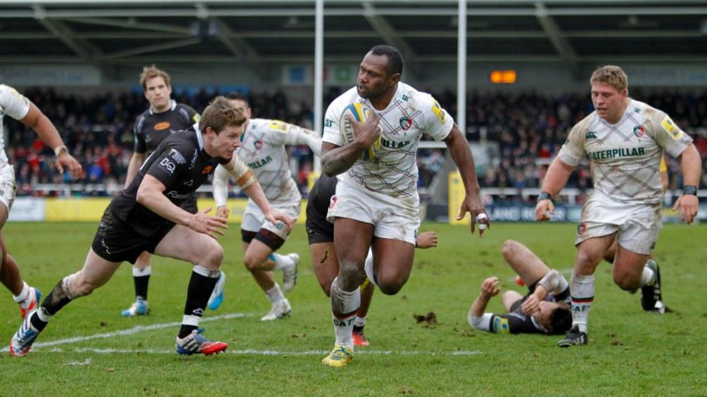 Leicester Tigers back Goneva seeking landmark try for Fiji