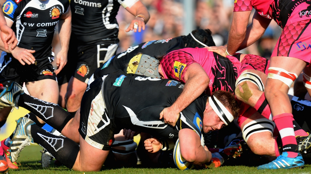 Exeter's Francis relishing taking on Premiership rivals