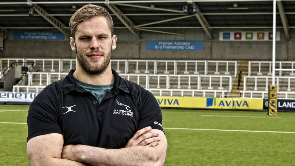 Falcons' skipper says become an Aviva First Timer