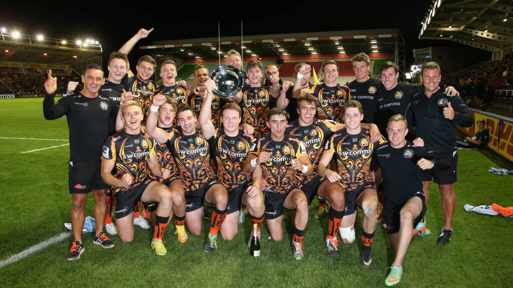 Simmonds hails Exeter Chiefs' character after Singha 7s Plate triumph