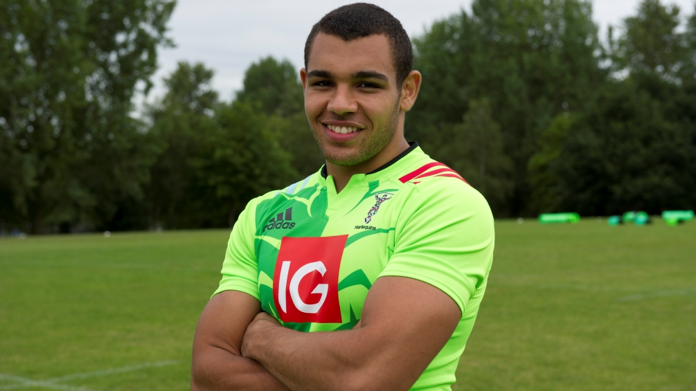 Marchant: Singha 7s helped kickstart my Harlequins career