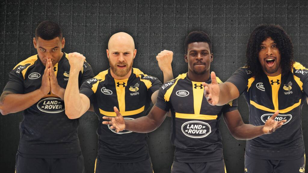 Wasps launch new Under Armour kit for 2015/16 season