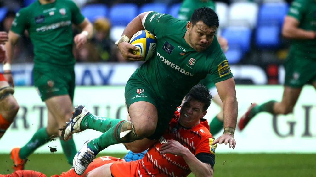 London Irish flanker Treviranus to lead Samoa at World Cup