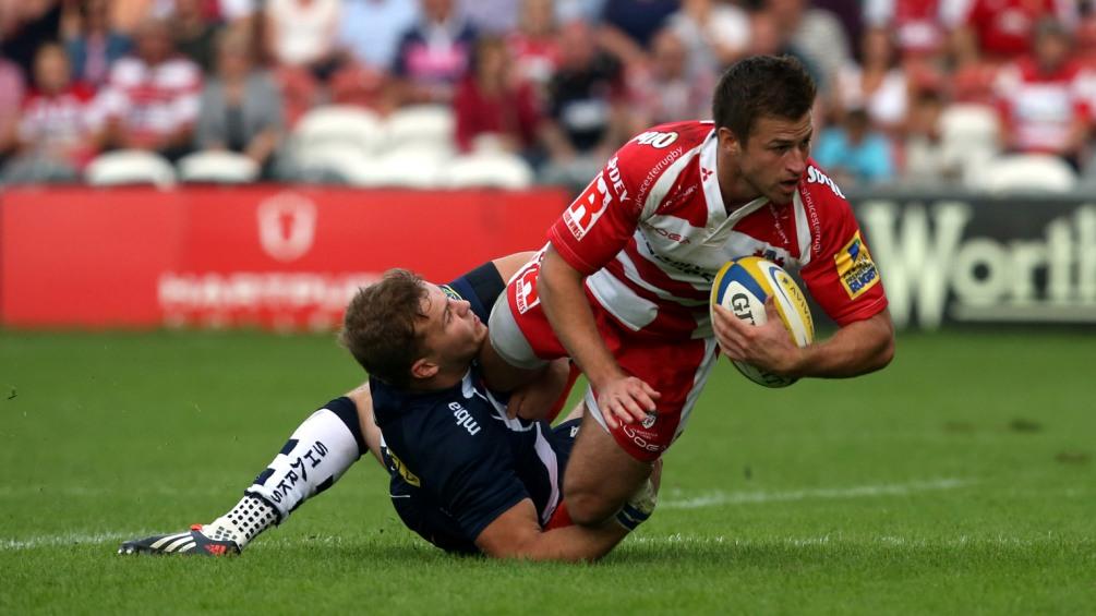 Trinder relishing prospect of Gloucester Rugby return