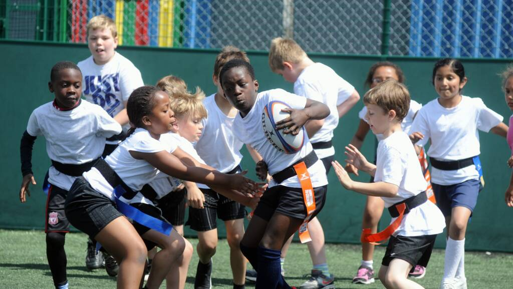 Sackey joins Wasps for a huge Tag session
