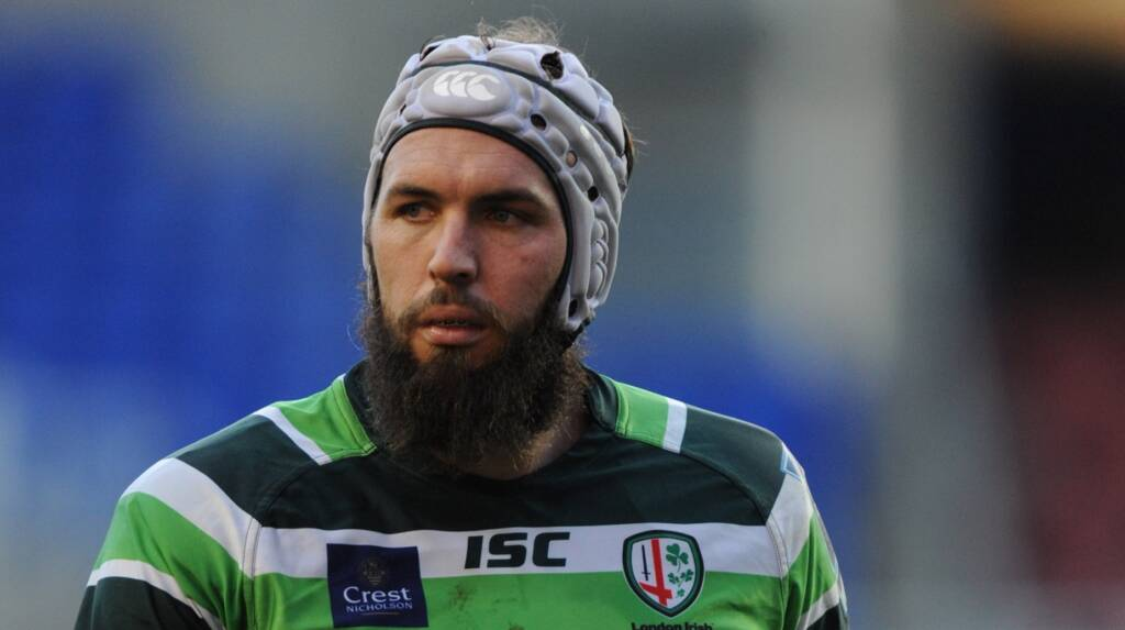 Bryn Evans raring to go at Sale Sharks