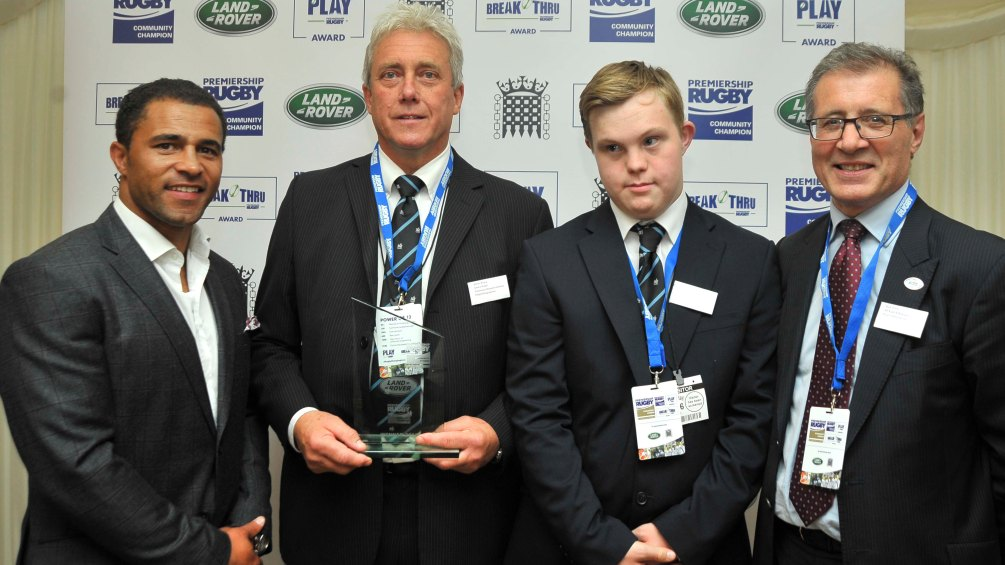 Life-changing Community Champion rugby can be proud of
