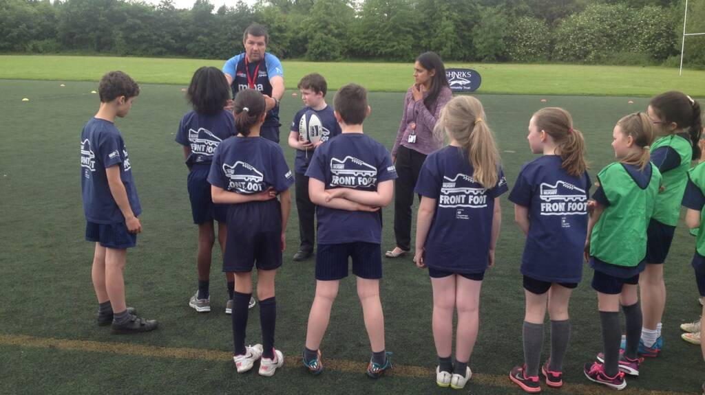 Rugby selected to build 'character and resilience' in schools