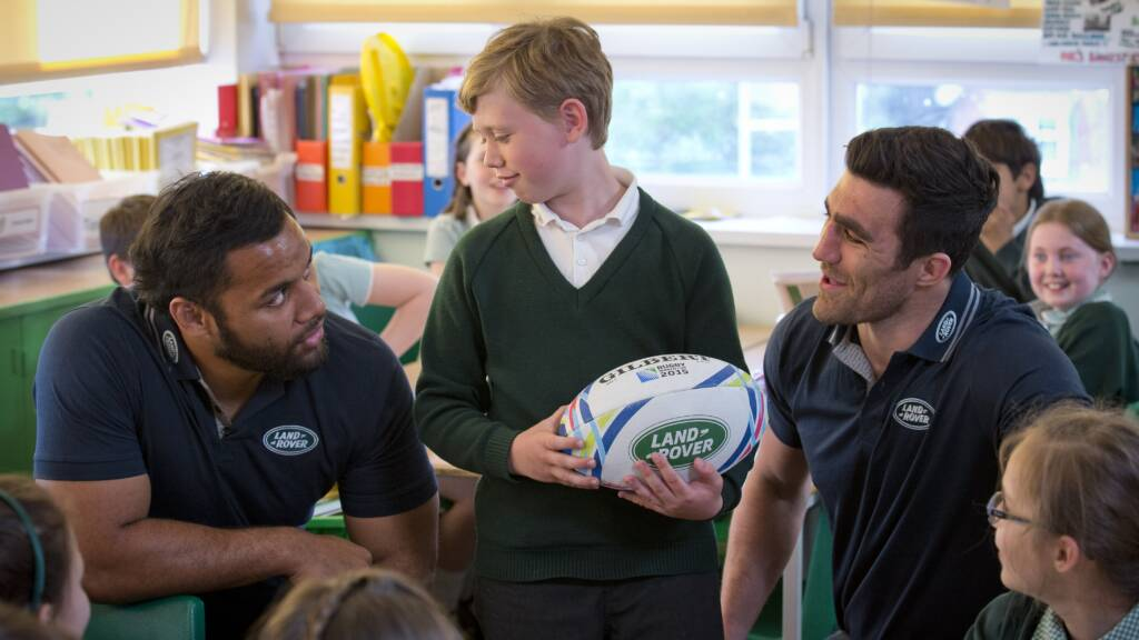 Saracens fan set to be Rugby World Cup mascot