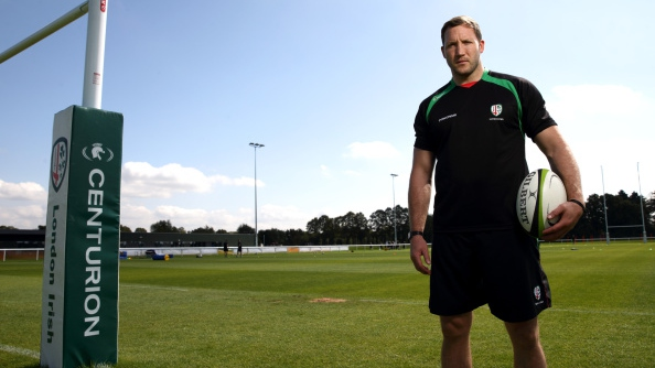 Bloggers' Bench member Debs Knight visits London Irish's Hazelwood training ground