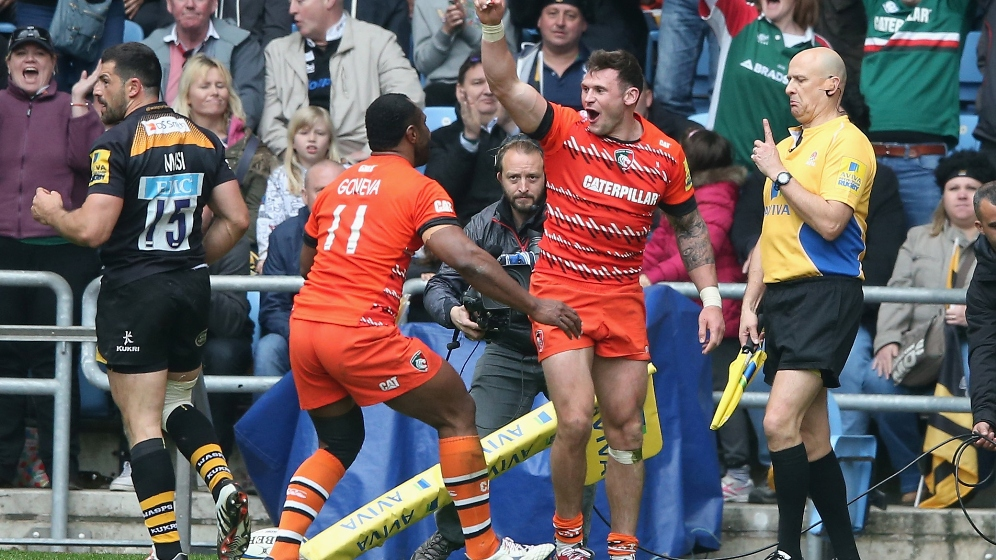 Thompstone wants to avoid place in Leicester Tigers' history