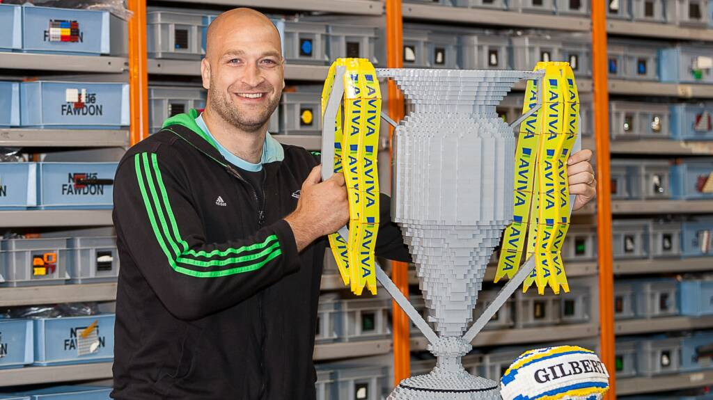 Lego trophy 'topped off' by George Robson