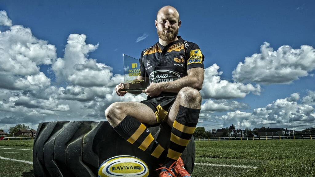 Aviva Premiership Rugby Player of the Month for April