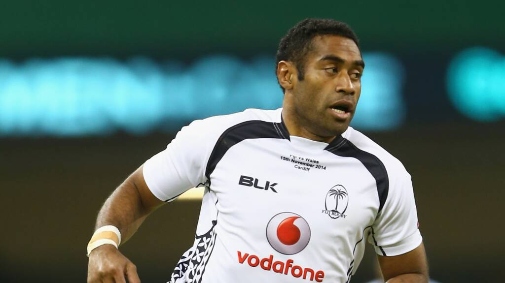 London Irish sign Fijian International