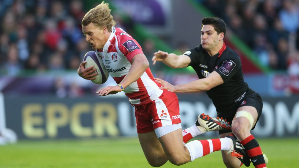 Twelvetrees on target as Gloucester Rugby grab European glory