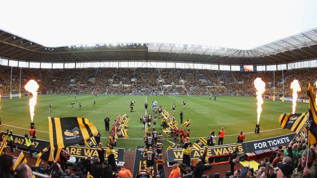 Just 1,000 tickets left for Wasps v Tigers at the Ricoh