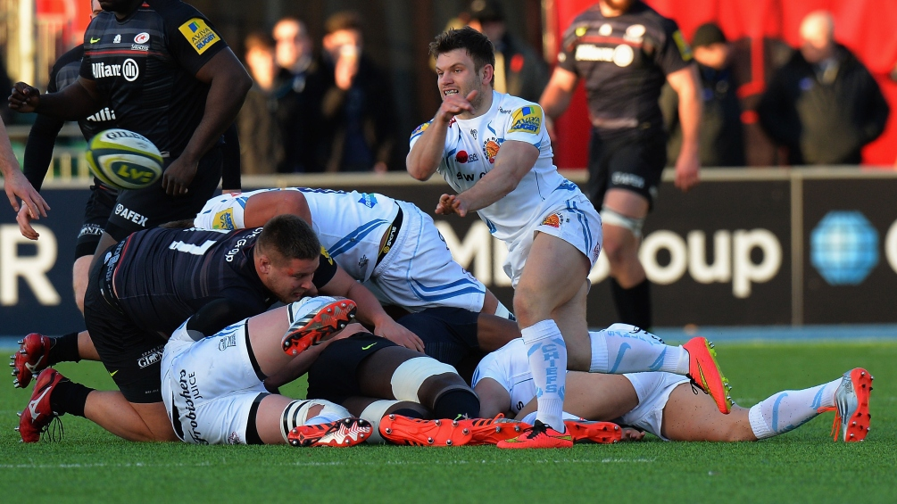 Lewis and Exeter Chiefs ready for Kingsholm test