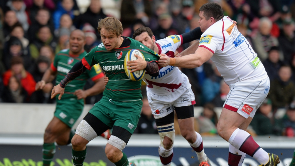 Tait targets semi-finals with Leicester Tigers