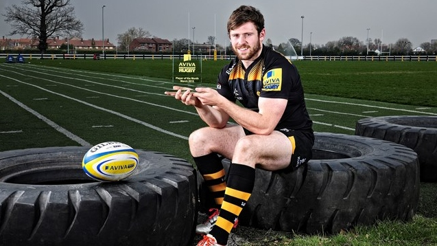 Daly named Aviva Premiership Rugby Player of the Month