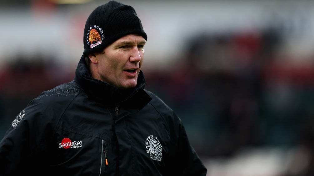 Baxter fixes his sights on Aviva Premiership Rugby