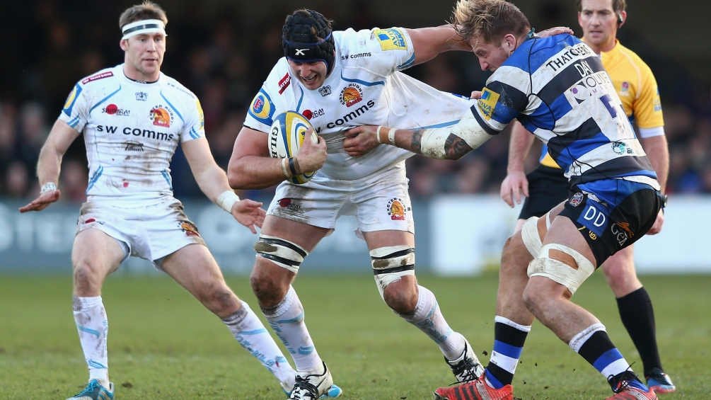 Lees and Exeter Chiefs desperate to double up