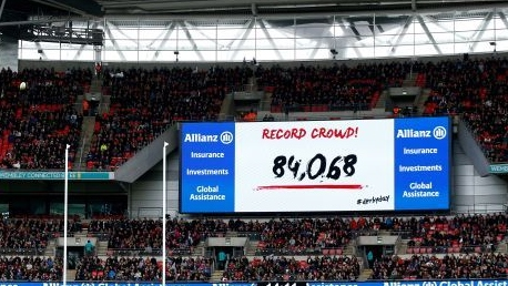 Saracens are Record Breakers
