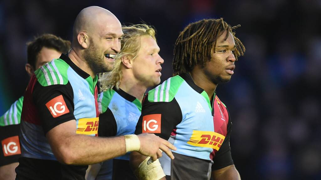 Robson makes 200th appearance for Harlequins