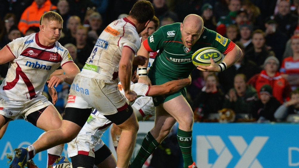 Fit-again Cole delighted to make Leicester Tigers return