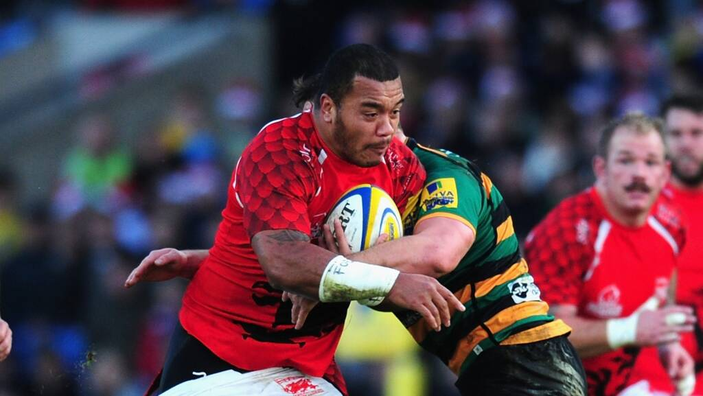 Falcons confirm signing of Tongan international prop