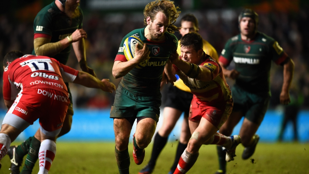 Harrison impressed by Leicester Tigers defence