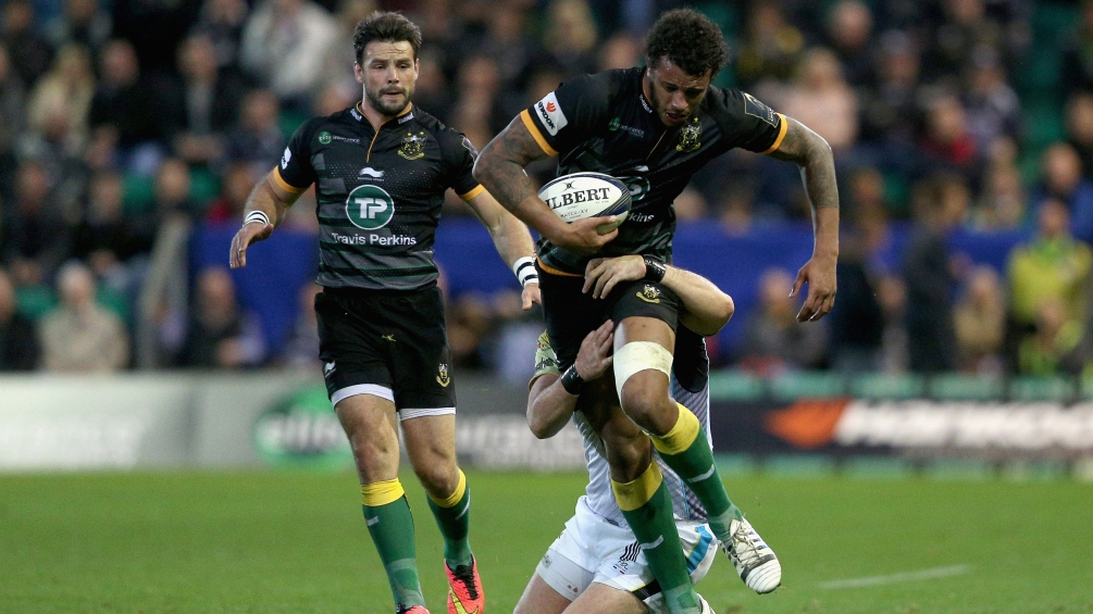 Lawes planning bright future at Northampton Saints