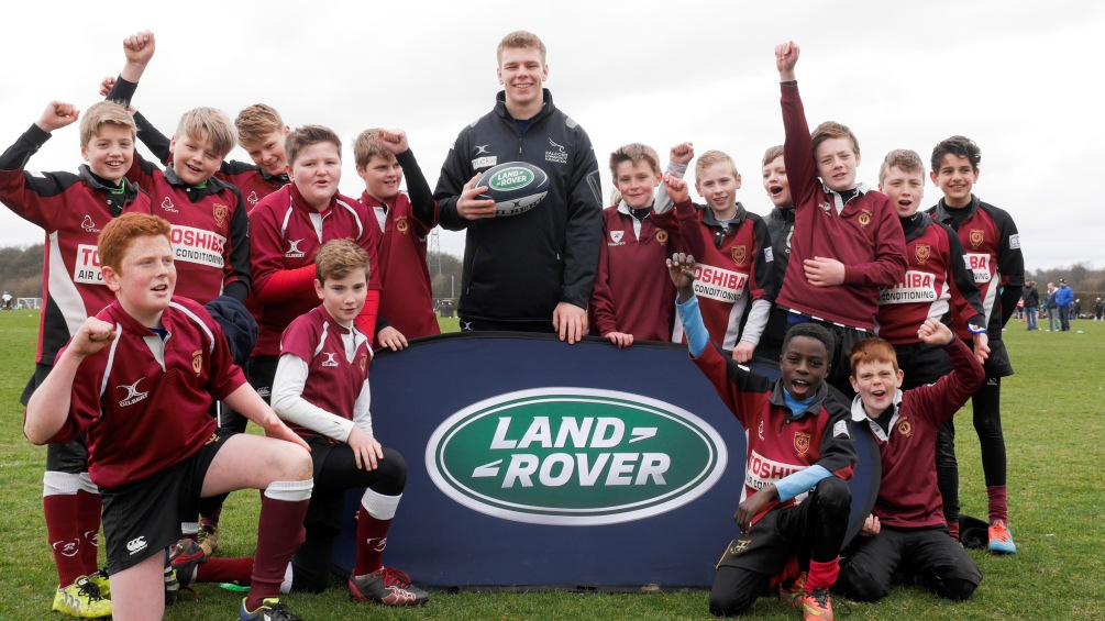 From Land Rover Premiership Rugby Cup to England captain