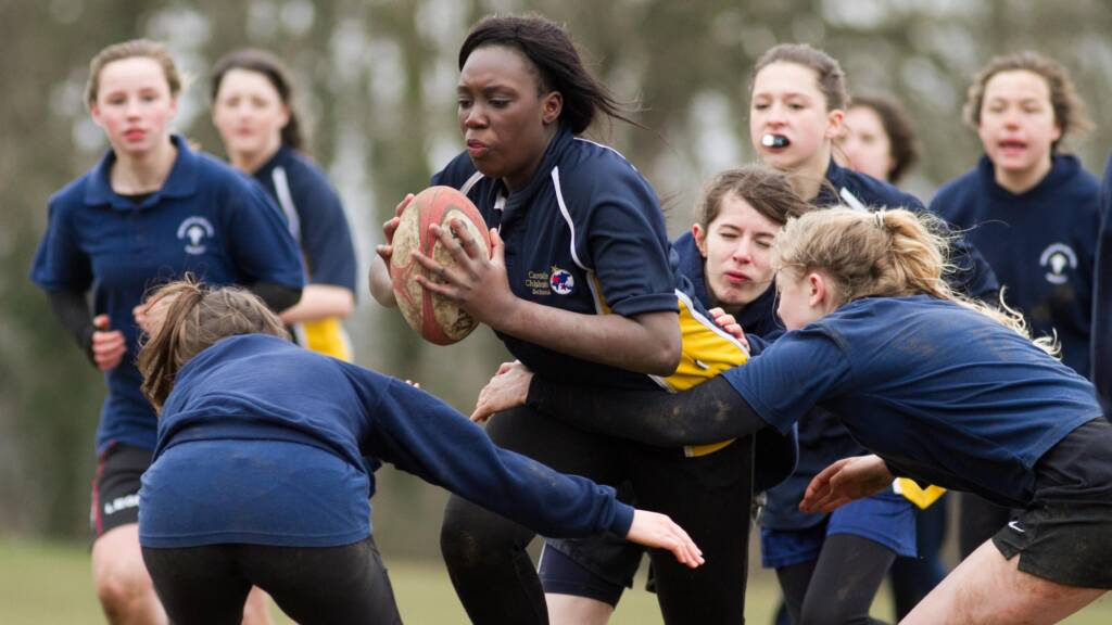 Eight-team tournament gives girls rugby a focus