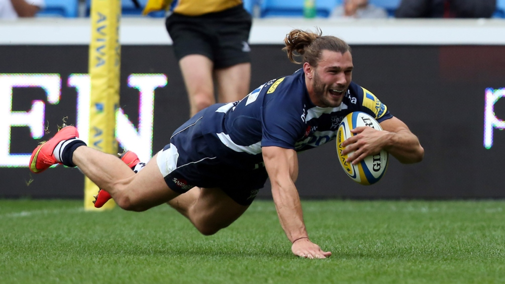 Arscott: Sale Sharks not settling for second best