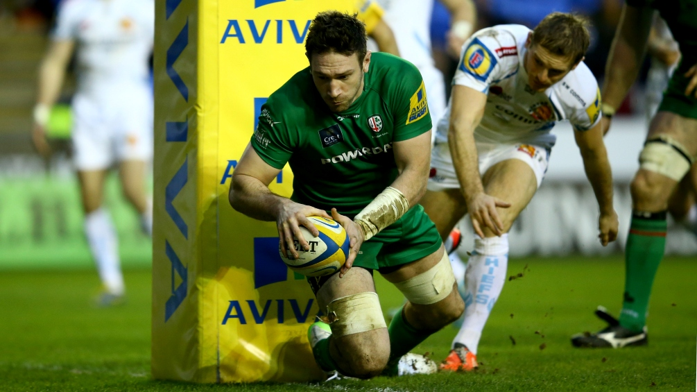 Guest: London Irish's backs are hitting top form