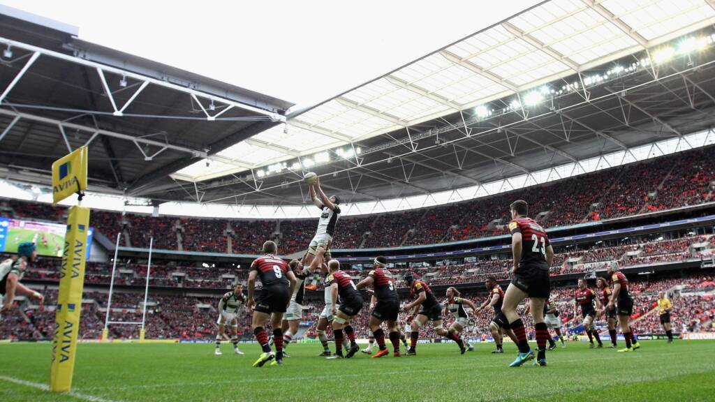 70,000 sold for Saracens v Harlequins at Wembley