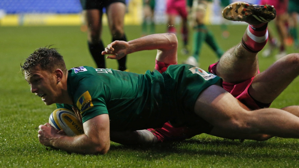 Lewington planning bright future with London Irish